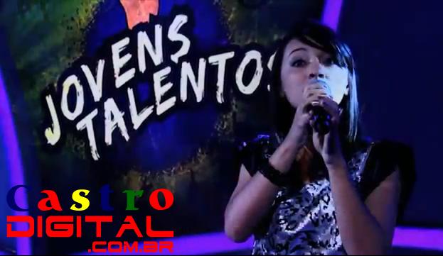 Vídeo de Andressa Sipaúba no Programa Raul Gil (SBT), cantora gospel de Bacabal – MA