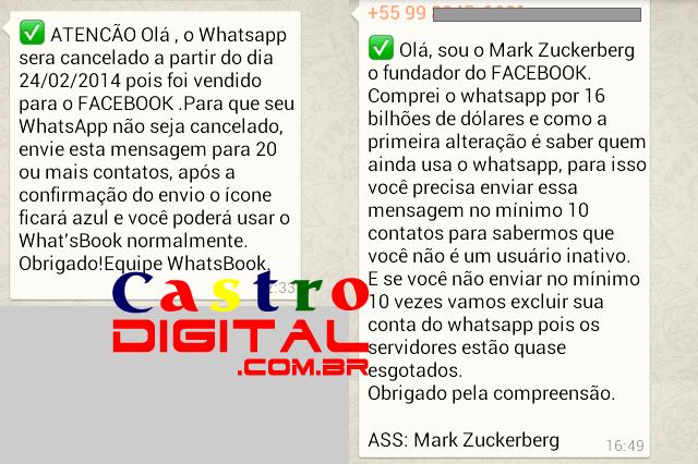 Aplicativo WhatsApp vai virar WhatsBook e mudar cor para azul do Facebook?