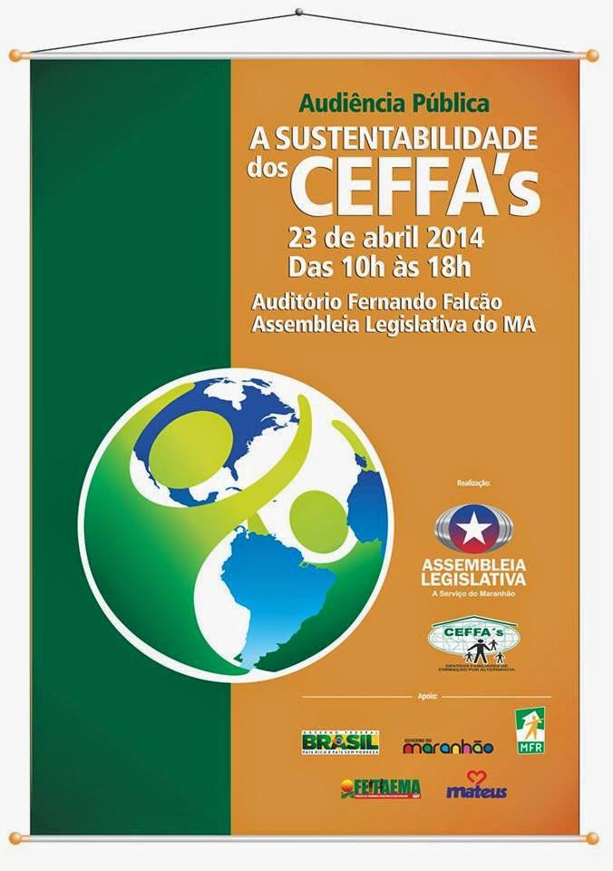 CEFFAs do Maranhão realizarão audiência pública na Assembléia Legislativa