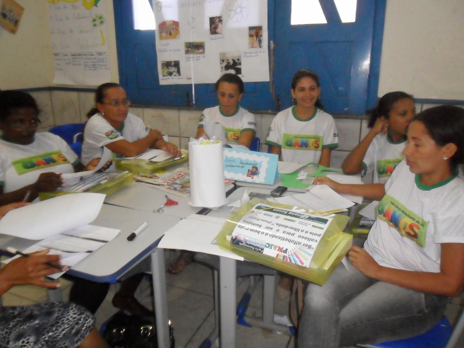 SEMED de Bacabal realiza formação de professores do Pacto Nacional pela Alfabetização na Idade Certa