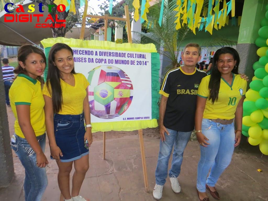 Fotos e vídeos do Projeto Copa 2014 no Colégio CEMA de Bacabal – MA
