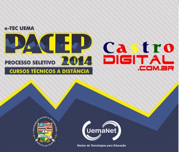 Inscrições para cursos técnicos grátis na UemaNet – PACEP edital 2014