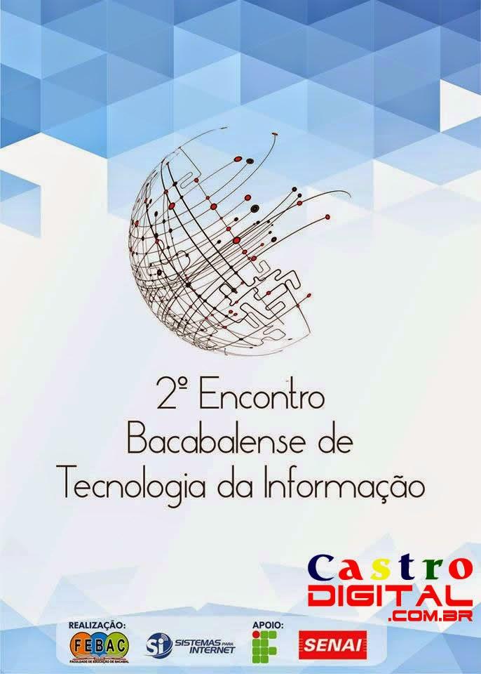 Convite para o 2º Encontro Bacabalense de Tecnologia da Informação – ENBATI 2014