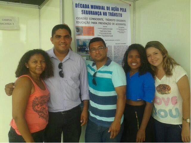 Acadêmicos da UFMA de Bacabal apresentaram projeto sobre trânsito no III SEMID em São Luis
