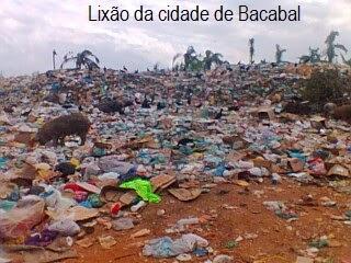 Fumaça do lixão da Prefeitura de Bacabal incomoda população