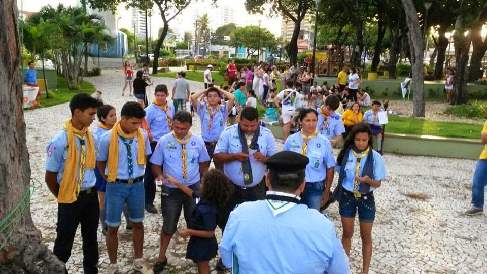 Escoteiros de Bacabal participam de Grande Jogo Aéreo em Fortaleza – CE