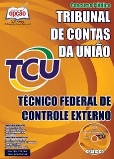 Editais do concurso 2015 do Tribunal de Contas da União (TCU) com vagas para nível médio e superior