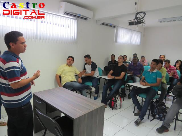 Visita de acadêmicos da FEBAC às empresas Inforgeneses e 128Bits em Teresina - PI