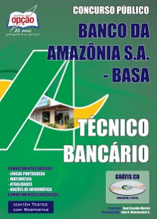 Edital do concurso 2015 para o Banco da Amazônia S.A.