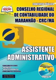 Edital do concurso 2015 para o CRC-MA (Conselho Regional de Contabilidade do Maranhão)