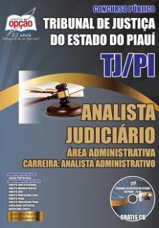 Edital do concurso 2015 do Tribunal de Justiça do Piauí (TJ-PI) com 180 vagas para nível superior em diversas áreas