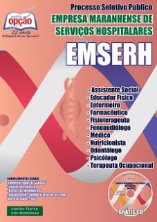 Edital do seletivo 2015 do Maranhão para área da saúde na EMSERH
