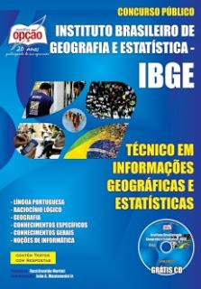 Distribuição de cargos e vagas por cidade no concurso 2015 do IBGE para nível médio e superior em diversas áreas e todo Brasil