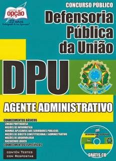 Edital do concurso 2015 da Defensoria Pública da União (DPU) com vagas para todo Brasil