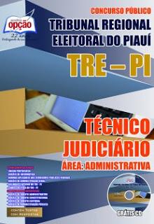 Edital do concurso 2015 do TRE-PI Tribunal Regional Eleitoral do Piauí