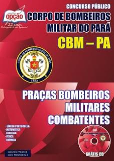 Edital do concurso 2015 do Corpo de Bombeiros Militar do Pará – CBMPA