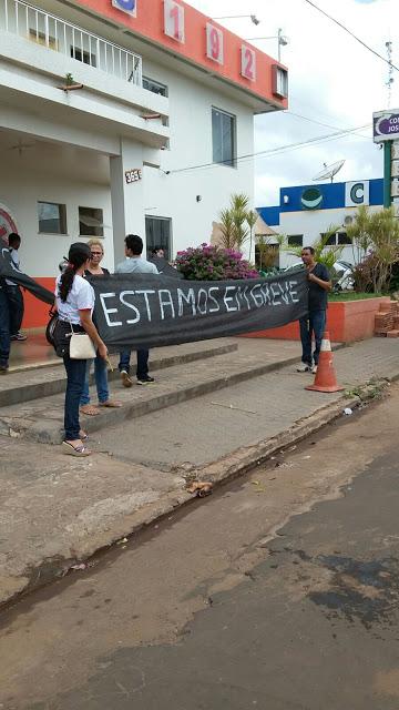 Servidores da saúde de Bacabal entram em greve por tempo indeterminado
