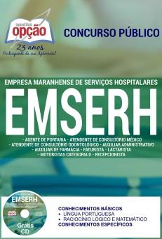 Edital do seletivo com 7.902 vagas para área da saúde no Maranhão – EMSERH – Empresa Maranhense de Serviços Hospitalares