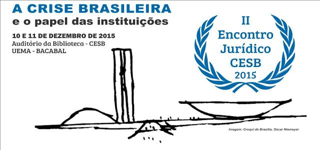 Convite para o II Encontro Jurídico do CESB/UEMA em Bacabal – MA