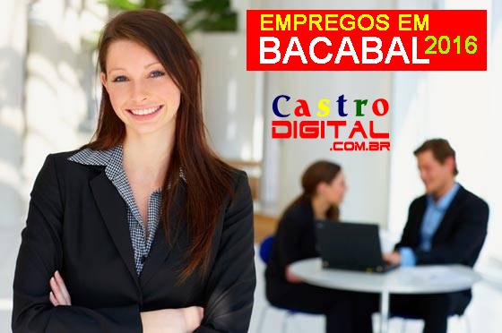Vagas de emprego para Bacabal em 2016 nos concursos INSS, IBGE e UFMA, aproveite e conquiste um novo emprego