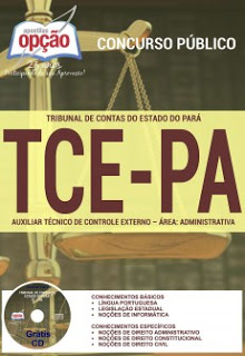 Edital do concurso 2016 do TCE-PA (Tribunal de Contas do Estado do Pará)