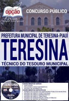Editais do concurso 2016 da Prefeitura de Teresina – PI com salário de até R$ 17 mil, veja os detalhes e Apostilas específicas