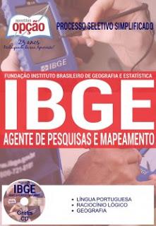 Edital do seletivo 2016 do IBGE com 7,5 mil vagas para nível médio em todo Brasil – veja Apostila específica