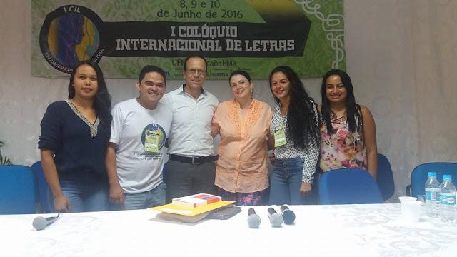 Fotos do I Colóquio Internacional de Letras da UFMA de Bacabal realizado com sucesso