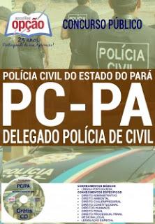 Editais do concurso 2016 da Polícia Civil do Pará para nível superior em qualquer área