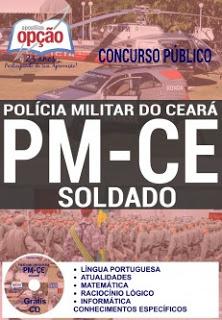 Edital do concurso 2016 da Polícia Militar do Ceará com mais de 4 mil vagas para Soldados