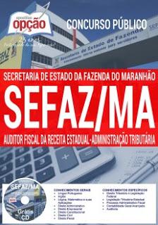 Edital do concurso 2016 da Sefaz-MA – Secretaria da Fazenda do Maranhão – Salário de R$ 9 mil para nível superior em qualquer área