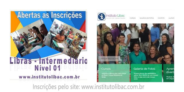 Inscrições para curso intermediário de Libras módulo I em Bacabal – MA (turma 1/2016)