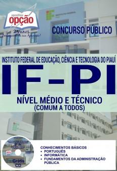 Apostila para o concurso do IFPI