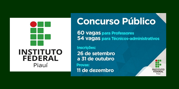 Editais do concurso 2016 do IFPI para professores e administrativos – Instituto Federal do Piauí
