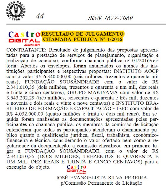 Definida organizadora do novo concurso do IFMA para professores e cargos administrativos, veja a distribuição de vagas por cidade