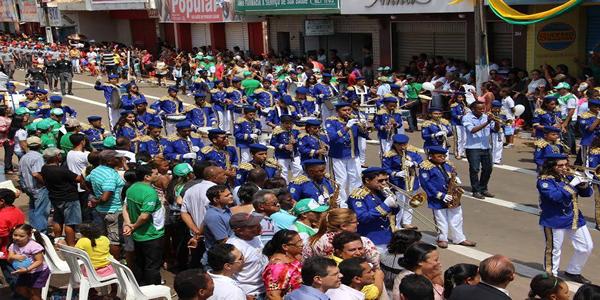 Programação do desfile de 7 de setembro de 2016 em Bacabal – MA