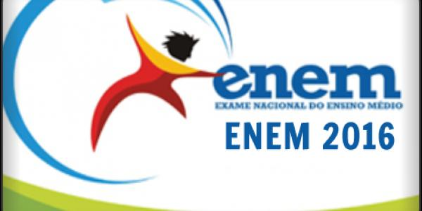 Local de prova do ENEM 2016 e cartão de confirmação de inscrição