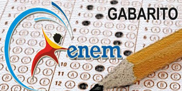 Gabarito oficial e provas do ENEM 2016