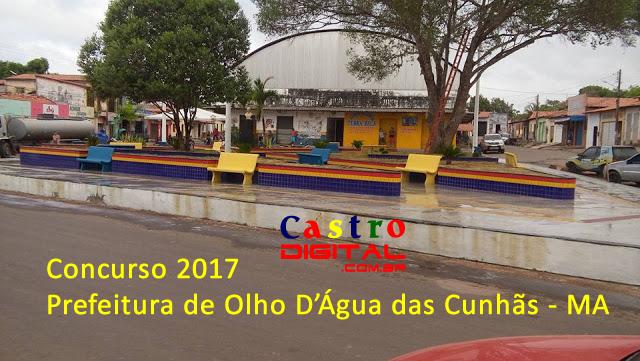 Concurso 2017 para Prefeitura de Olho D'Água das Cunhãs – MA com mais de 230 vagas é autorizado pela Câmara de Vereadores