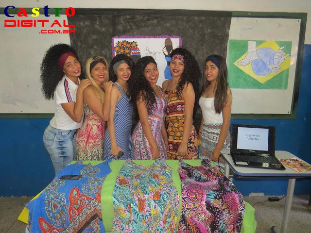 Fotos do Projeto de Valorização da Cultura Afro-brasileira na Escola Estado do Ceará em Bacabal – MA