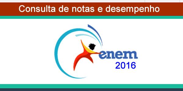 Consultar resultado e notas do ENEM 2016 – veja seu desempenho na prova