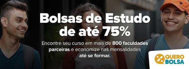 Quero Bolsa facilita bolsas de até 75% em cursos de graduação e pós-graduação em universidades de todo Brasil