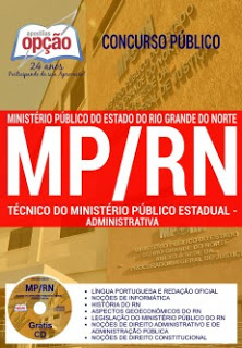 Apostila para o concurso do Ministério Público do Rio Grande do Norte (MP-RN) - cargo de nível médio
