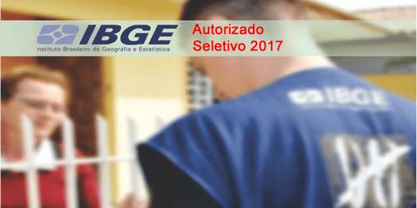 Autorizado seletivo 2017 para o IBGE com mais de 26 mil vagas em todo Brasil
