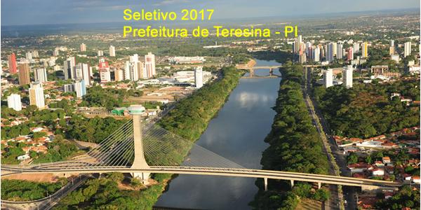 Edital do seletivo 2017 da Prefeitura de Teresina – PI para área da saúde