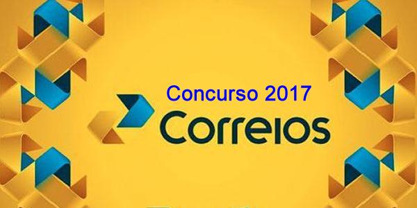 Edital do concurso 2017 dos Correios para áreas da saúde e segurança do trabalho