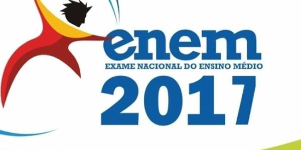 Local de prova do ENEM 2017 e cartão de confirmação de inscrição