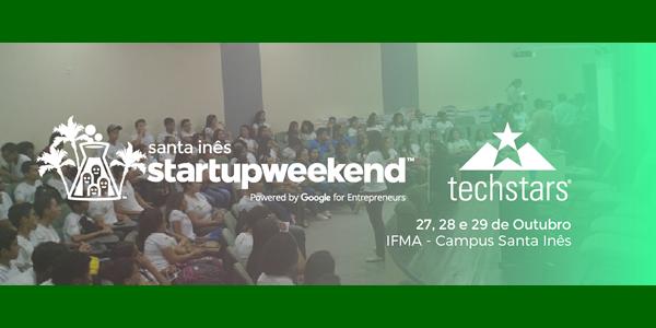 Convite para o StartUp Weekend em Santa Inês – MA