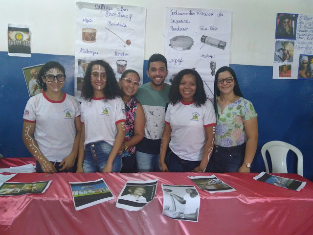 Fotos do  Projeto Africanidade 2017 no Centro de Ensino Estado do Ceará em Bacabal – MA