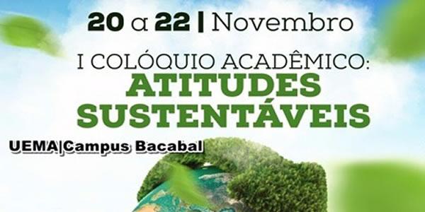 Convite para o I Colóquio Acadêmico na UEMA de Bacabal – Editais